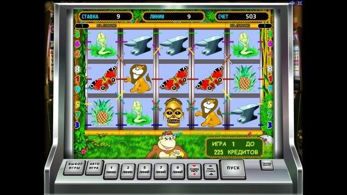 Автоматы обезьяны онлайн / Играть бесплатно и без регистрации в игровой.