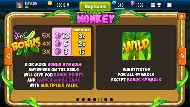 Игровой автомат ⚡ Crazy Monkey от компании Igrosoft